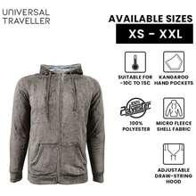 Universal Traveller-Men Basic Polar Fleece Jacket-Fj8304
