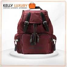 Burberry [Pre-Order] KLS 1333 Nylon Backpack Maroon 3 weeks