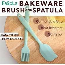 FaSoLa Bakeware Brush and Spatula