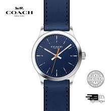 Coach Baxter Blue Leather Men'S Watch 14602394