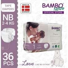 Bambo Nature Baby Diaper New Born (2-5Kg) | 28Pcs/Pack