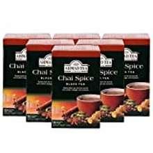 ahmad tea Ahmad Tea Chai Spice Black Tea, 20 Foil Tea Bags (Pack Of 6)