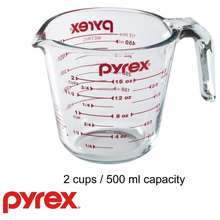Pyrex Measuring Cup (Size: 500 Ml)