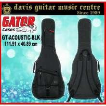 Gator Acoustic Guitar Bag Transit Black (2 Days Delivery)