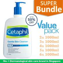 Cetaphil Gentle Skin Cleanser Single-Pack / Super Combo Pack. Up To 50% Off!