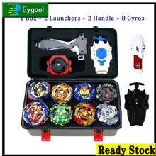 Beyblade Burst Toy Set With Light Handle Launcher Beybalde Kid'S Toys Boy Gifts