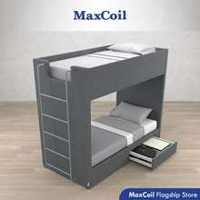 MaxCoil Dixon Bunk Bed   Available In Single/ Super Single (Mattress Not Included)