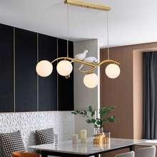 IKEA [Shop Malaysia] Modern Nordic Led Chandelier Ceiling Light Birds Pendant Lamp Hanging Lights Lampu Burung Lampu Hiasan Ceiling Lamp Ikea