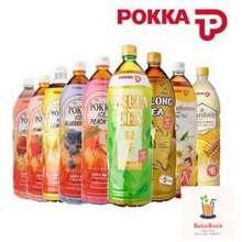 Pokka 1.5L Green Tea/ Oolong/ Lemon Tea/ Peach Tea/ Blueberry Tea/ Strawberry Tea/ Honey Lemon/ Honey Yuzu