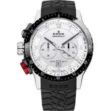 Edox Dakar Chronorally Chronograph white/steel/black ED10305-3NR-AN