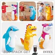 Intex 3-D Bop Bags*Inflatable Toys*Bopper Power Bag / Punching Bag