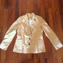 Mango New Basic Orange Ochre Ol Jacket Blazer