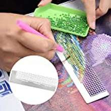 Diamond Embroidery Painting Ruler Round Diamond Painting Ruler 216 Holes For Diamond Painting Accessory Diy Embroidery Painting Embroidery Painting