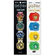 Harry Potter Re-Marks Harry Potter Hogwarts Planner Pack Of 4 Magnetic Page Clips And 4 Pads Of 25 Sticky Bookmarks
