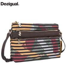 Desigual Wholesale Original New Spain Women'S Bag Bols Urban Mandala Petrer Messenger/Shoulder Bags Women Black/Blue Shoulder Bags