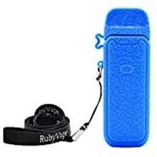 vaporesso Anti-Slip Texture Protective Cover For Vaporesso Luxe Pm40 Pod With Portable Lanyard (Blue)