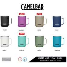CamelBak Horizon Camp Mug, Stainless Steel Insulated Mug With Handle 350Ml  5 Colours Available