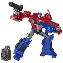 Transformers Cyberverse Deluxe Class Optimus Prime Action Figure