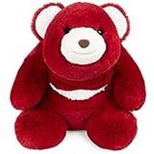 """Gund Gund Snuffles Teddy Bear Limited Edition 40Th Anniversary Plush Stuffed Animal, Ruby Red, 13"""""""