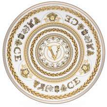 Versace Virtus Gala 33Cm Plate White
