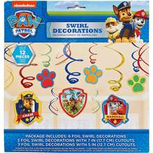 Paw Patrol Nickelodeon Party Decoration