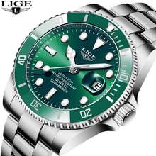 LIGE 2020 Top Brand Lige Luxury Men'S Watch 30M Waterproof Date Clock Male Sports Watches Men Quartz Wrist Watch