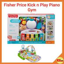 Fisher-Price Mattel Deluxe Kick & Play Piano Gym Fgg45