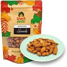 SnackFirst Almonds (Raw/Baked) 200G/1Kg