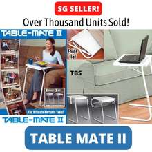 As Seen on TV ! Table Mate 2 Foldable Folding Portable Adjustable Multi Purpose Laptop Notebook Computer Study Desk Tray