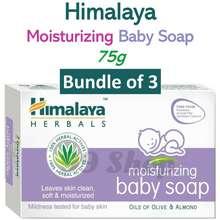Himalaya Himalaya Moisturizing Baby Soap Bar 3X75G