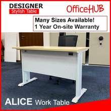 DVS Officehub Alice Table Maple / Study Table / Banquet Table / Event Table / Study Desk / Office Table