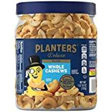 planters Planters Fancy Whole Cashews With Sea Salt, 26 Oz. Resealable Jar - Made With Simple Ingredients - Good Source Of Vitamins And Minerals - Kosher