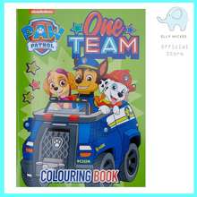 Paw Patrol ONE TEAM COLOURING BOOK (32PP)