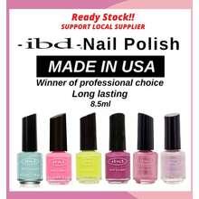 ibd (Buy 1 Free 1 Nail File) Nail Polish Nail Lacquer 8.5Ml