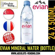 evian Mineral Water 500Ml X 24 (Bottle) - Free Delivery Within 3 Working Days!