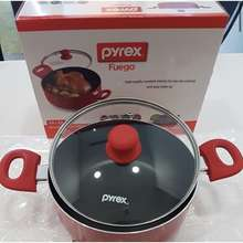 Pyrex Fuego Saucepot With Double Handles 4.2Lt