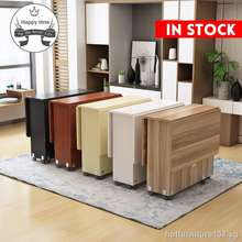 IKEA [Ready Stock]Ikea Folding Table With Small Family Contracted And Easy Multi-Functional Rectangle Scalable Mobile 4 Dinner