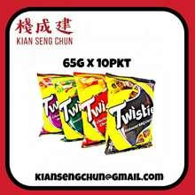 Twisties 65G X 10Pkt Snack