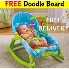 Fisher-Price Newborn To Toddler Rocker W2811★Baby Infant Newborn Bouncer Swing Booster Seat Cot Play Bed Chair Support