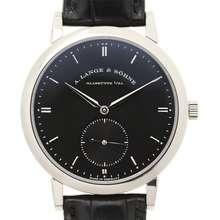 A. Lange & Sohne Grand Saxonia Automatik Black Dial Mens Watch 307.029