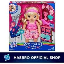 Baby Alive [Hasbro] Snip 'n Style Baby Blonde Hair Talking Doll
