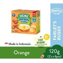Heinz Farley'S Rusks (120G) Orange (ED@Apr 2022)