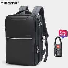 Tigernu High Quality Business Men Backpack Bags 15.6 Laptop Backpack Fashion School BackPack Travel TPU Waterproof Luggage Bags