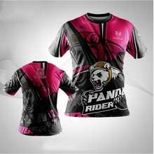 891282141.sg (Ready Stock)3D Print 🔥Hot Sales🔥 Use For Malaysia- Panda Rider Sublimation Shirt / Baju Panda / Rider / Foodpanda