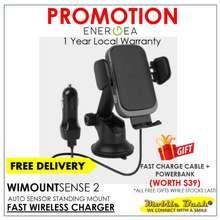 Energea Wimount Sense2 Wireless Charger Car