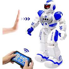 Remote Control Music Dance Robot Toy Remote Control Gesture Robot Smart Action Infra-Red Interactive Toy Children