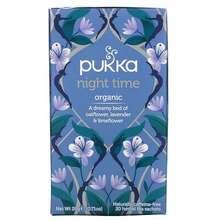 Pukka Herbs Night Time Tea Naturally Caffeine Free 20 Herbal Tea Sachets 0.71 oz 20 g
