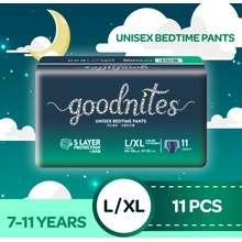 HUGGIES Goodnites Youth Diaper Pants L/XL 1x11