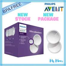 Philips Avent Ultra Comfort Disposable Breast Pads (60Pcs)