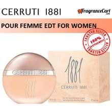 Cerruti 1881 1881 Pour Femme Edt For Women (100Ml) Eau De Toilette Green [Brand New 100% Authentic Perfume]